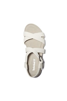 Timberland Kadın Beyaz Sandalet A2atv 0