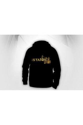Lifestyle Unisex Siyah Istanbul Mafıa Kapşonlu  Hoodie Polar Sweatshirt 2