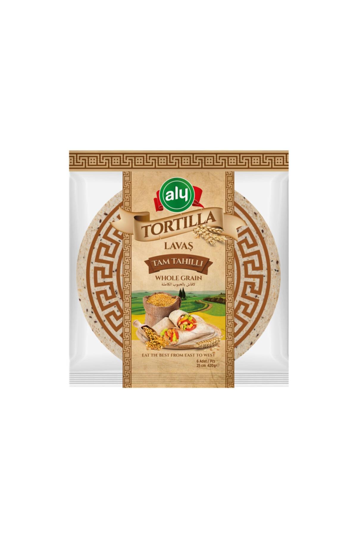 Tam Tahıllı Tortilla Lavaş 25 cm 6'lı Paket 420 gr