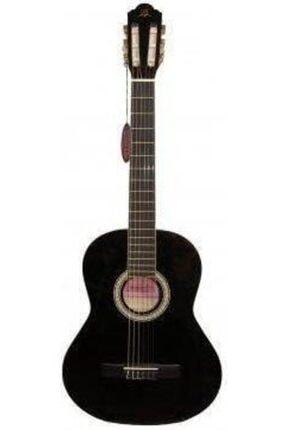 Barcelona Lc 3900 Bk Siyah Klasik Gitar Hediyeli 0