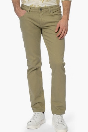 Network Erkek Açık Yeşil Casual Pantolon 1061121 2