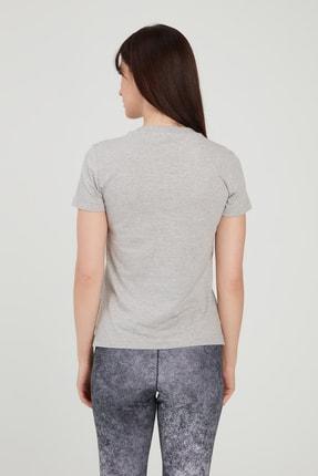 adidas Kadın Gri Circular Graphic T-shirt 1