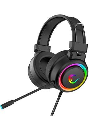 Rampage Alquist Sn-r10 Siyah 3,5mm Rgb Gaming Oyuncu Mikrofonlu Kulaklık 2