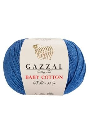 Gazzal Baby Cotton Pamuklu Amigurumi İpi 0