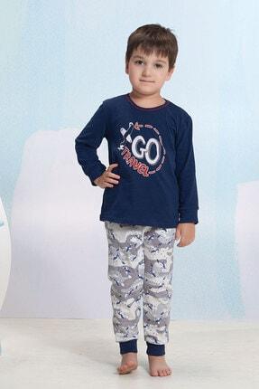 تصویر از Baskılı Erkek Çocuk Pijama Takım