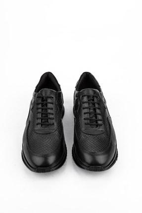 Ziya , Erkek Hakiki Deri Ayakkabı 103423 103 Sıyah 4
