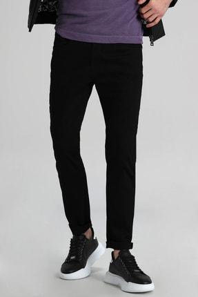 Lufian Paul Smart Jean Pantolon Slim Fit Siyah 1