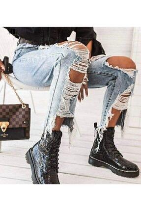 JANES ? Özel Tasarım Yırtık Detay Kot Pantolon 2