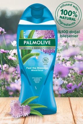 Palmolive Aroma Sensations Feel The Massage Cilt Yenileyici Duş Jeli 2 X 750 ml + Duş Lifi Hediye 1