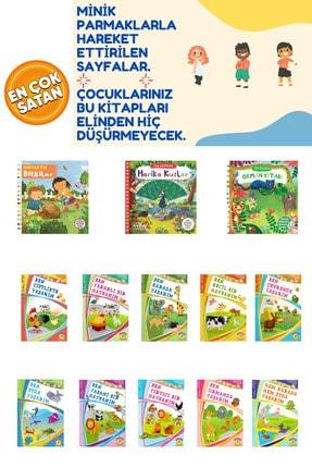 İş Bankası Kültür Yayınları Çocuklarımızın Severek Okuyacağı Muhteşem Seri 3 Hareketli + 10 Rengarenk Öykü Kitabı 0