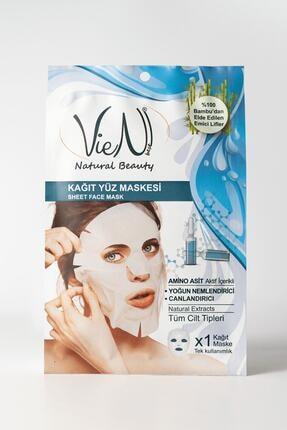 Vien Kağıt Yüz Maskesi Amino Asit+ Yoğun Nemlendirici +canlandırıcı 0