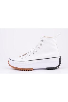 Converse Erkek Beyaz Kalın Tabanlı Sneakers 0