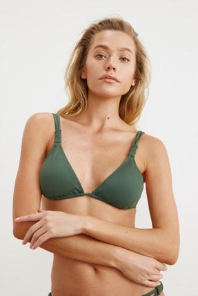 TRENDYOLMİLLA Yeşil Askı Detaylı Bikini Üstü TBESS21BU0194 2