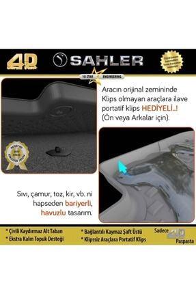 Sahler Vw Passat B8 2014- Sonrası 4.5d Havuzlu Paspas 4