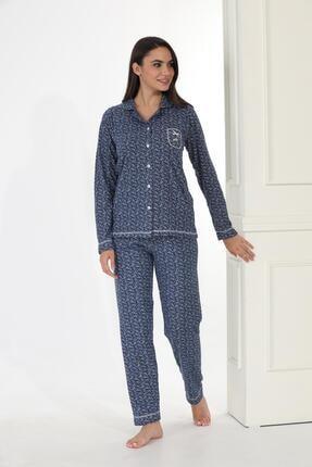 Etoile Ekstra Yumuşak Kumaş Pijama Takımı 98145 1