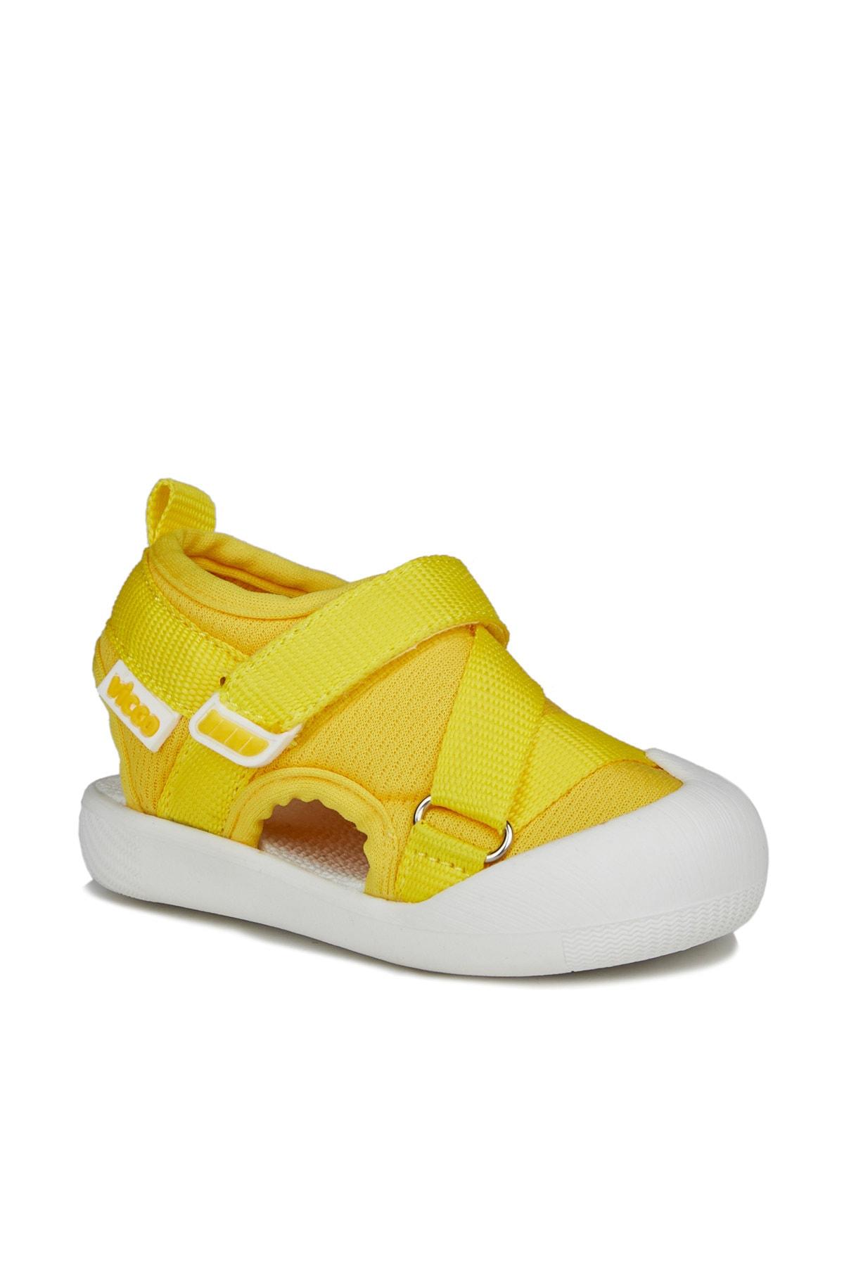 Lolipop Unisex Ilk Adım Sarı Sandalet