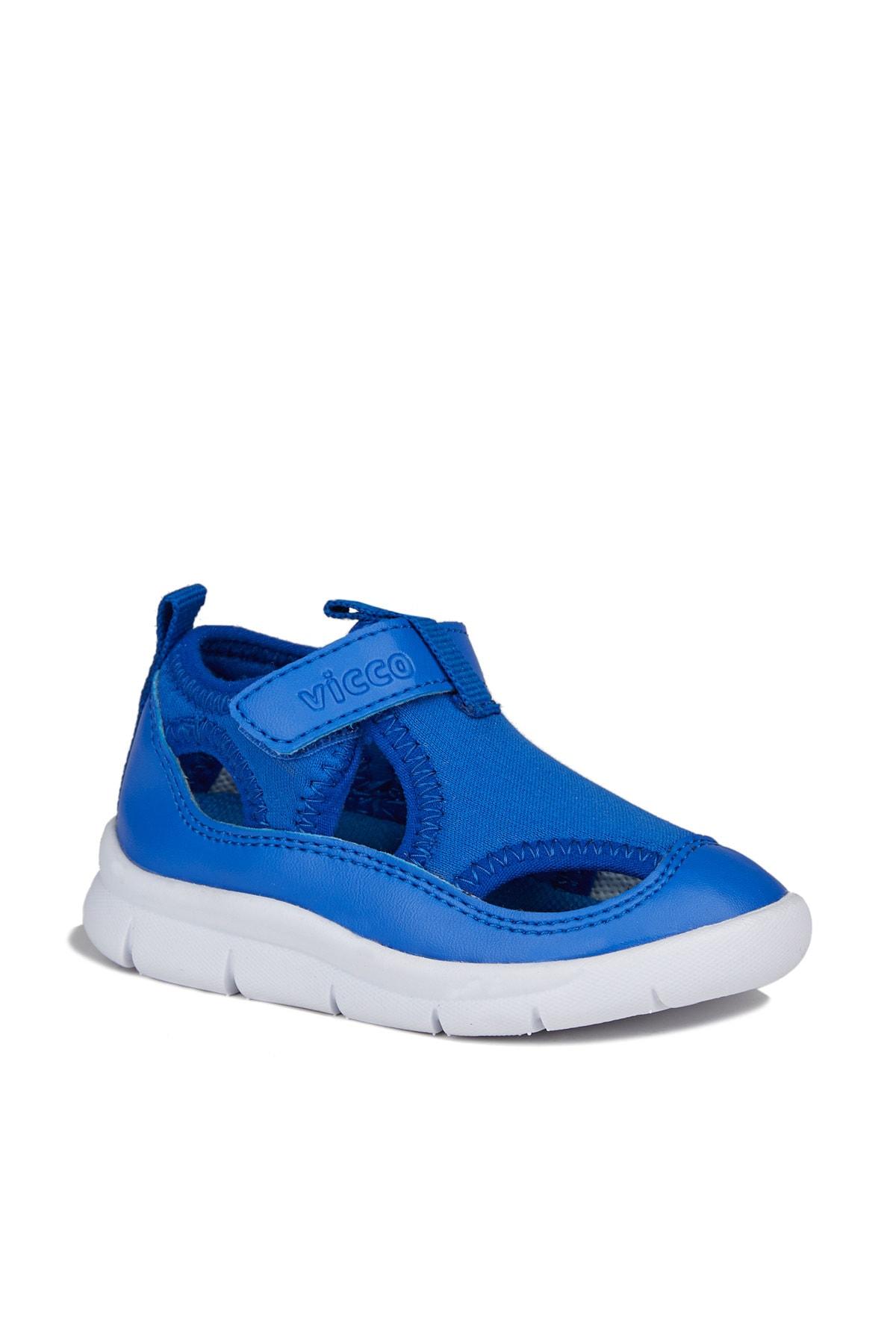 Berry Hafif Erkek Bebe Saks Mavi Spor Ayakkabı