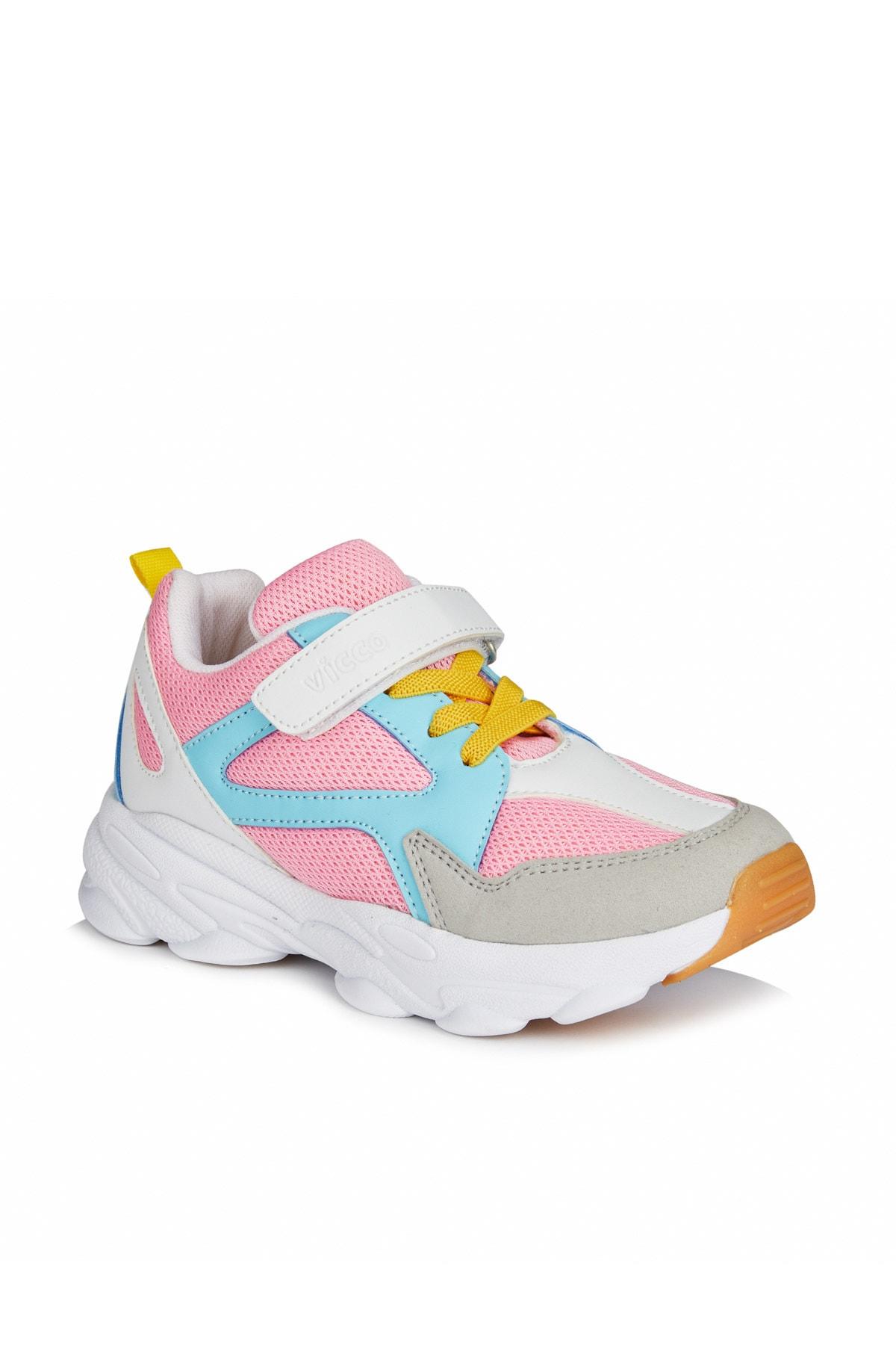 Asimo Hafif Kız Çocuk Pembe Sneaker