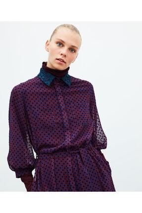 İpekyol Puantiye Desen Tül Elbise 0