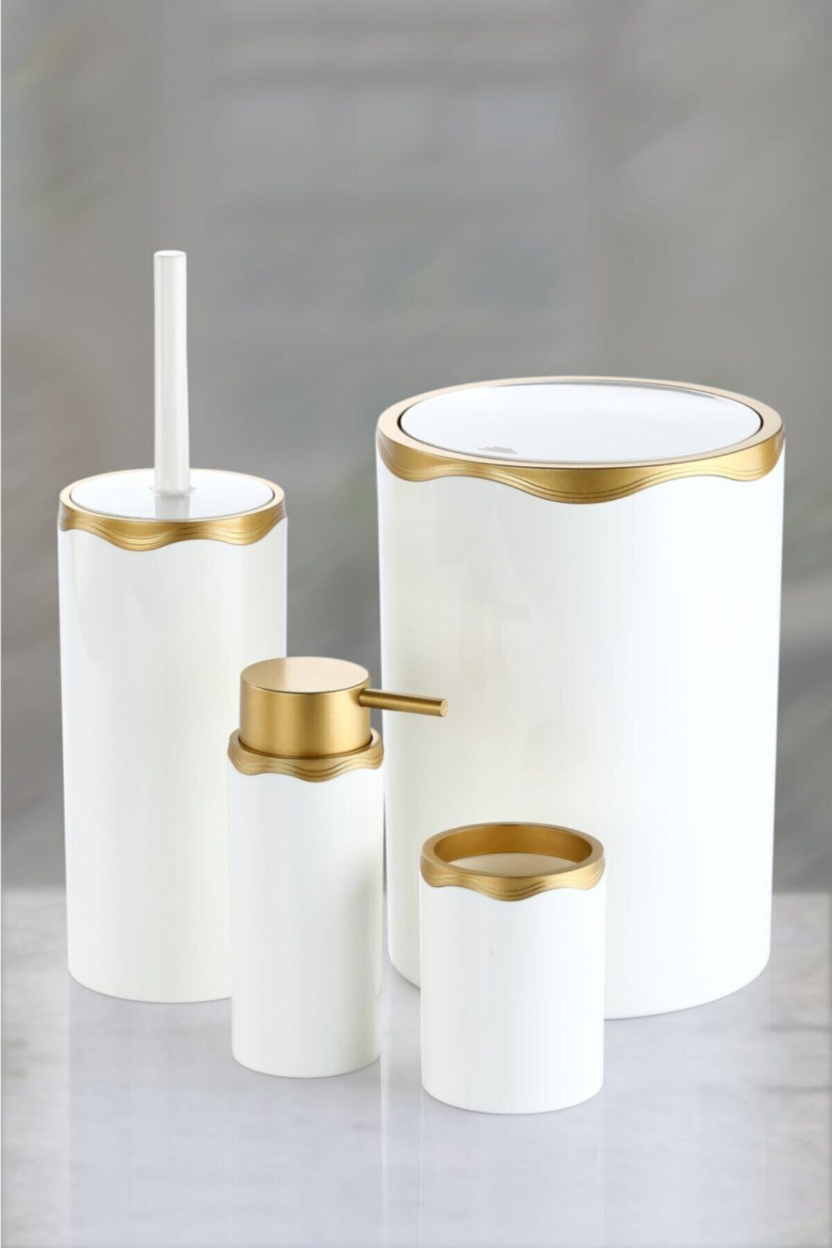 Banyo Seti Gold Altın