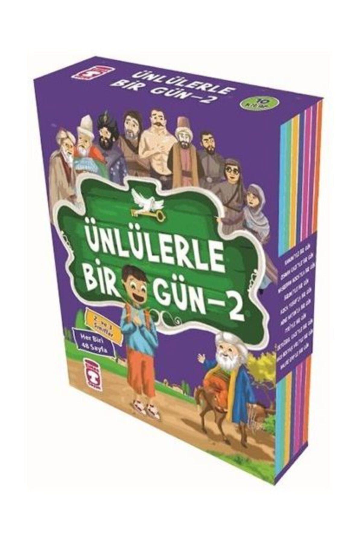 Ünlülerle Bir Gün 2.set (10 Kitap Takım) 2 Ve 3.sınıf