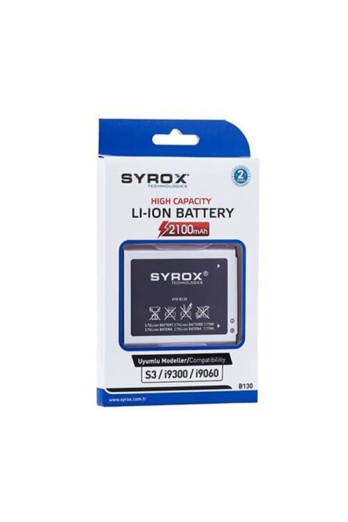 S3/i9300/i9060 Samsung Uyumlu Batarya Syx-b130