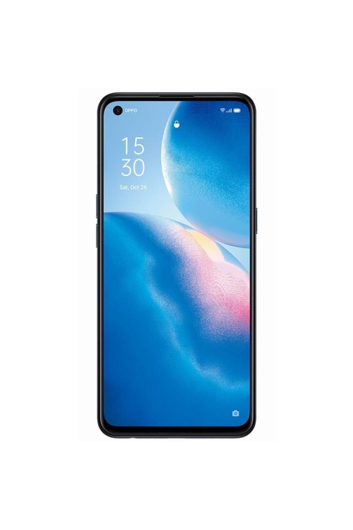 Reno5 Lite 128GB Siyah Cep Telefonu (Oppo Türkiye Garantili)