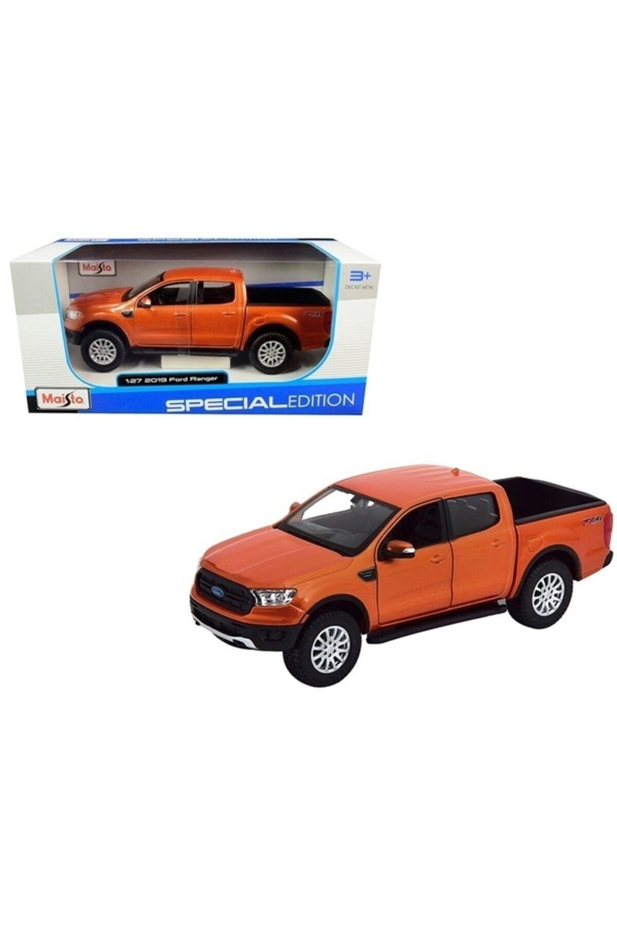 2019 Ford Ranger Fx4 Diecast Model Metal Araba
