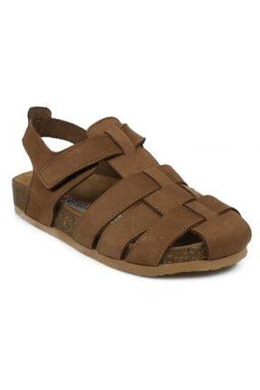 Toddler Erkek Çocuk Tarçın Tek Cırt Sandalet 4682b 0