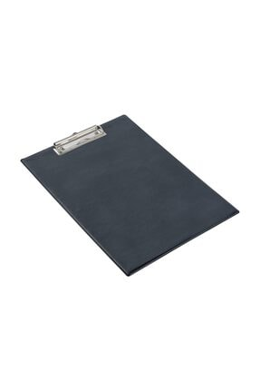 KRAF A4 Kapaksız Sekreterlik  Dosyası Üstten Klipsli Siyah 0