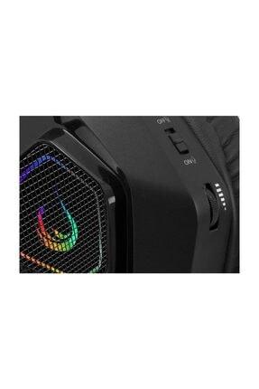 Rampage Rm-k8 Hawker Siyah Usb 7,1 Version Rgb Ledli Gaming Oyuncu Mikrofonlu Kulaklık 4