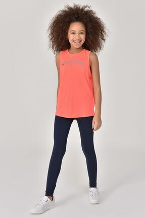 bilcee Turuncu Kız Çocuk Atlet GS-8172 4