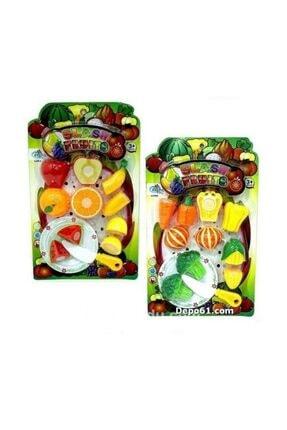 KARAKUŞ OYUNCAK Meyve Kesme Set 12 Parça Food Heaven Kesilebilir Meyve Sebze Seti 0