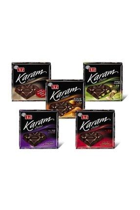 Eti Karam %70 Kakaolu Bitter Çikolata 70 g x 6 Adet 3