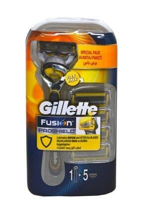 Gillette Fusion 5 Proshield Tıraş Makinesi + 5 Yedek Bıçak Hediye 0