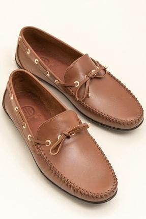 Elle POSEY Hakiki Deri Taba Erkek Ayakkabı 0