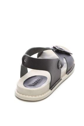 Kemal Tanca Hakiki Deri Siyah  Kadın Sandalet Sandalet 539 1309 BN SNDLT Y20 3
