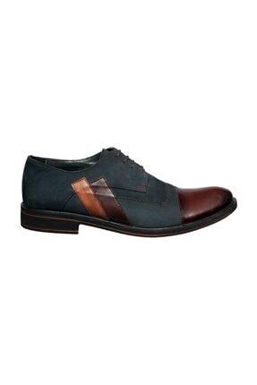 Banner Erkek Lacivert Hakiki Deri Klasik Ayakkabı | 116370 1