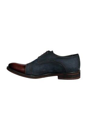 Banner Erkek Lacivert Hakiki Deri Klasik Ayakkabı | 116370 2