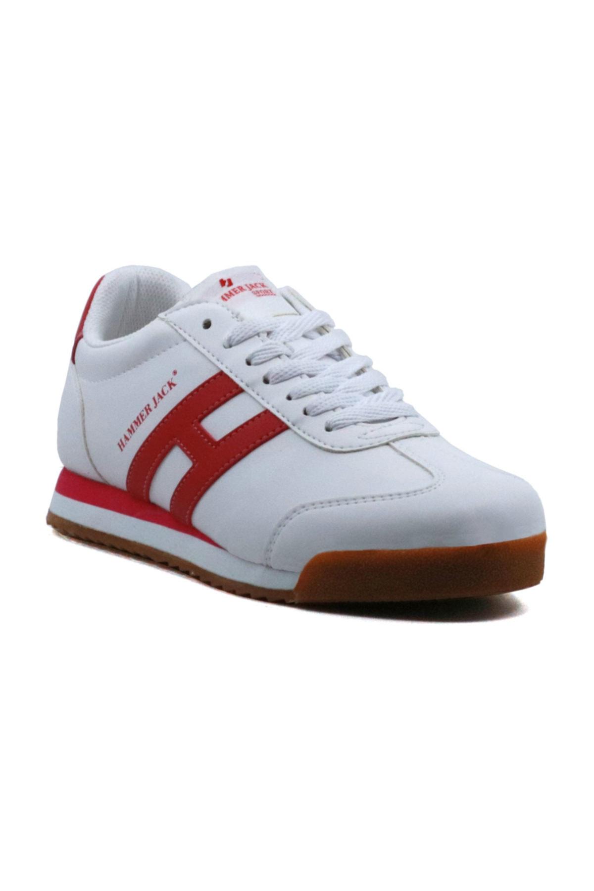 Unisex Beyaz Hammer Jack Melo G Erkek Kadın Spor Ayakkabı