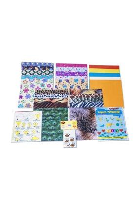 HAYAL Origami Kağıt Seti Karışık 100lü Paket - Hediyeli 1