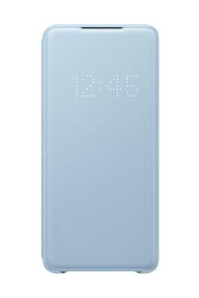 Samsung Galaxy S20 Plus LED View Kılıf Mavi 0