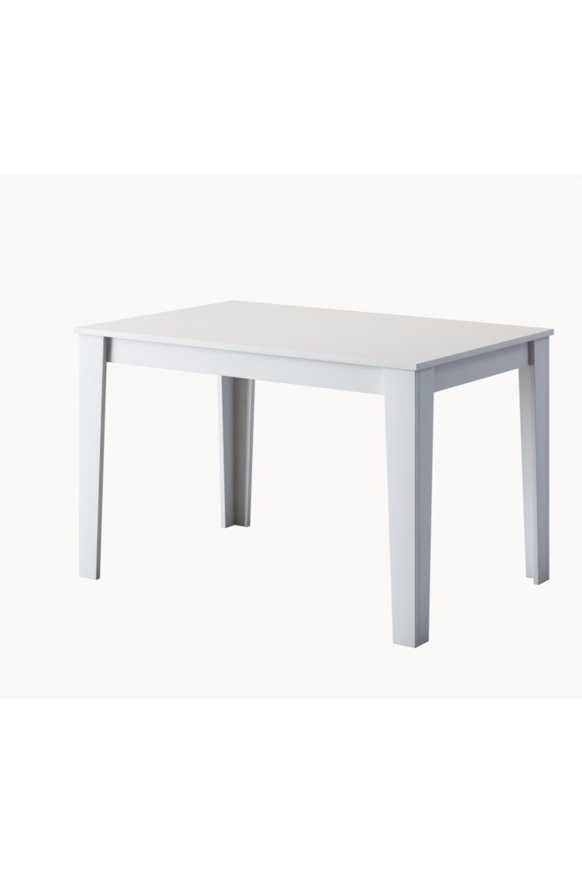 Rani T1 Mutfak Masası 110 cm Beyaz M2
