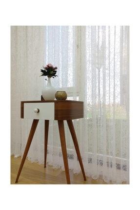 Esse Home Özel Örme Dokulu Tül Perde, 550x250, Normal Pile, 1/2.5 3
