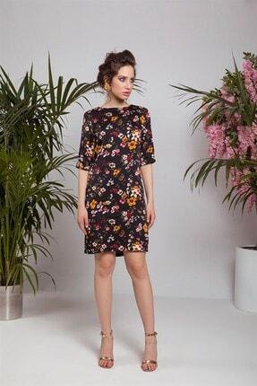 Cream&Rouge 18y151 Elbise Çiçekli 0