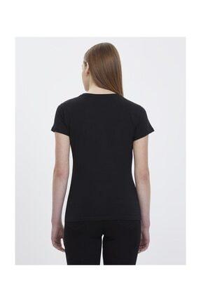 Loft Kadın Yazılı Baskılı Slim Fit Tişört 2