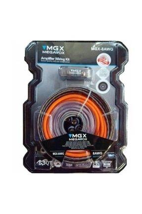 megavox Megavox Mgx-8ga Bakır Kalitesi Oto Tesisat Kablosu Seti 0