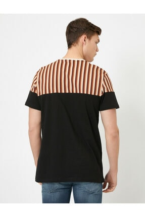 Koton Erkek Siyah T-Shirt 0YAM14713OK 3