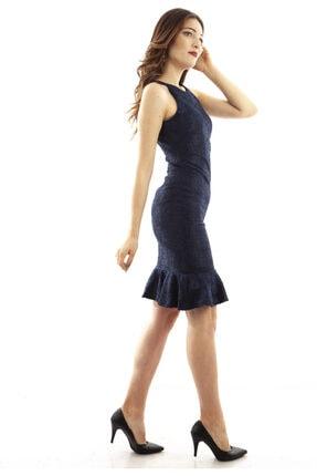 Ardanewline Kadın Lacivert Elbise 130136-10 3