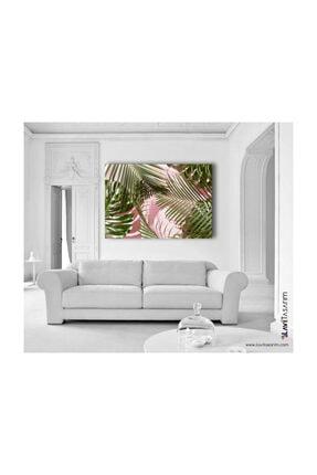 Lavi Tasarım Palmiye Yaprakları Kanvas Tablo 1